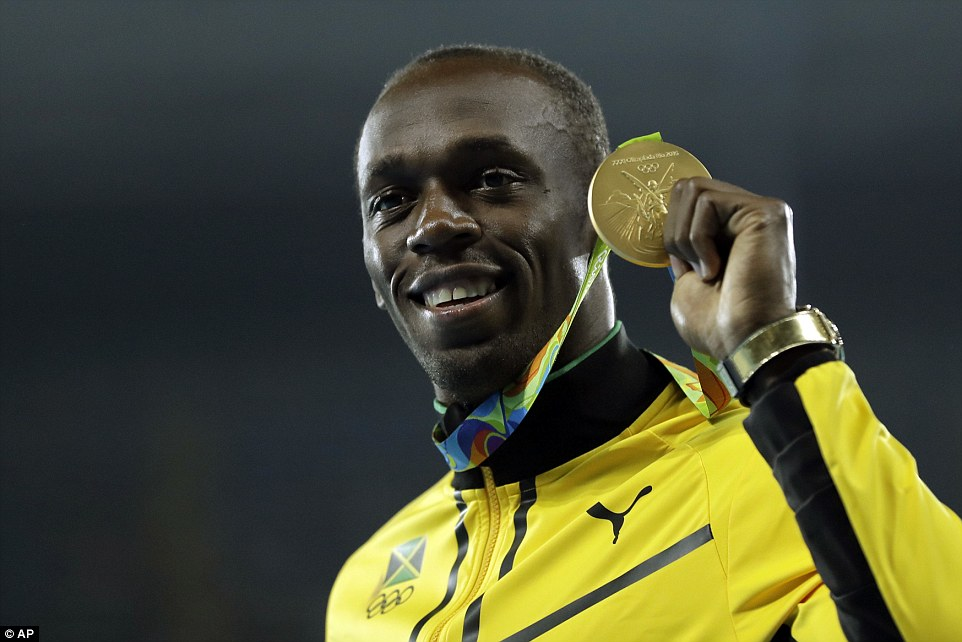 Usain Bolt was one of many Olympians that will have to pay taxes on multiple medals.