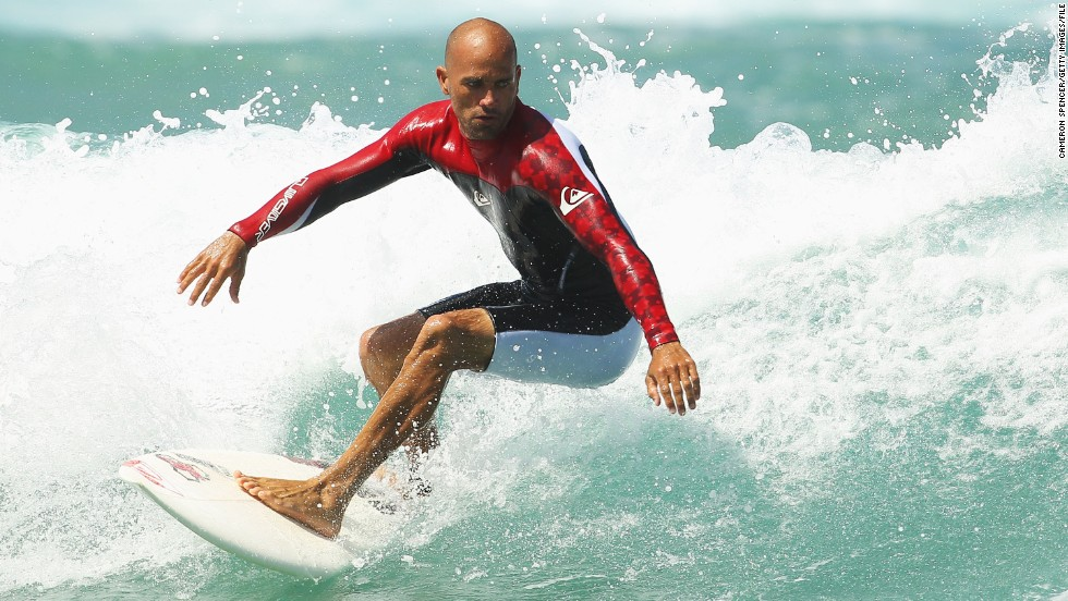 Kelly Slater continues to continue his legacy as a phenomenal surfer during his twenty year career.