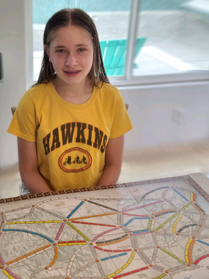 Emily Maurer is one of many that found creative ways to pass the time in quarantine.